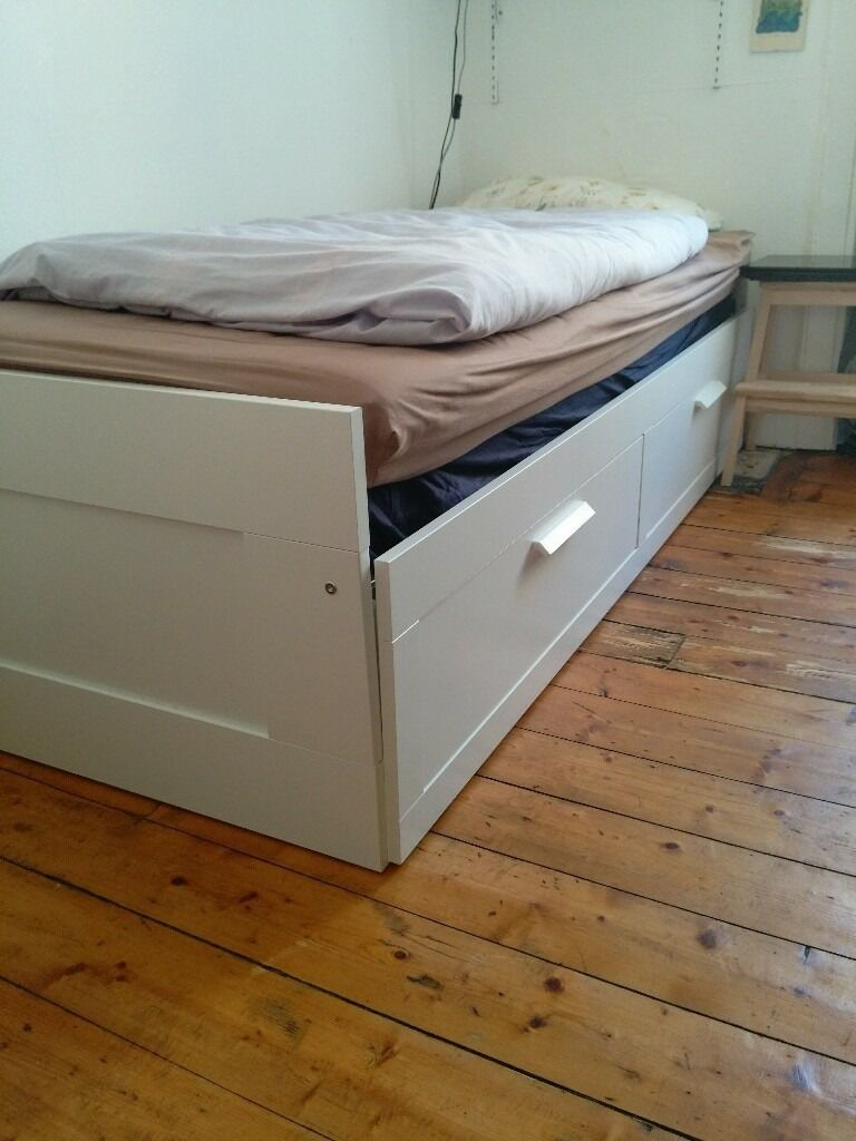 Jugendbett Mit Unterbett Ikea ~ Ikea 'Brimnes' day bed  in Edinburgh City Centre, Edinburgh  Gumtree