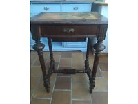 Antique Victorian Sewing Table