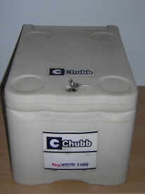 Chubb Firecooler Safe - 60 minutes UL fire protection label