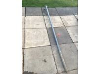 *FREE* metal washing line pole