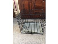 Dog cage used