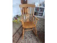 1970s rocking chair