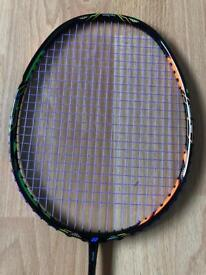 Yonex Duora 10 green/orange/Black Colour badminton racket uk coded