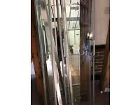 Shower surround nearly new doors etc