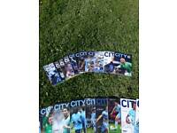 Manchester city football programs