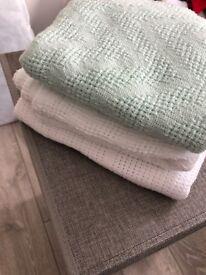 Cellular blankets brand new unused