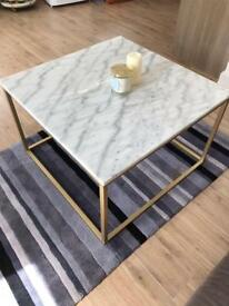 Marble/Gold Coffee Table