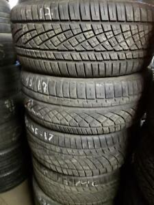 4 summer tires continental contiextremecontact 225/45r17 tt