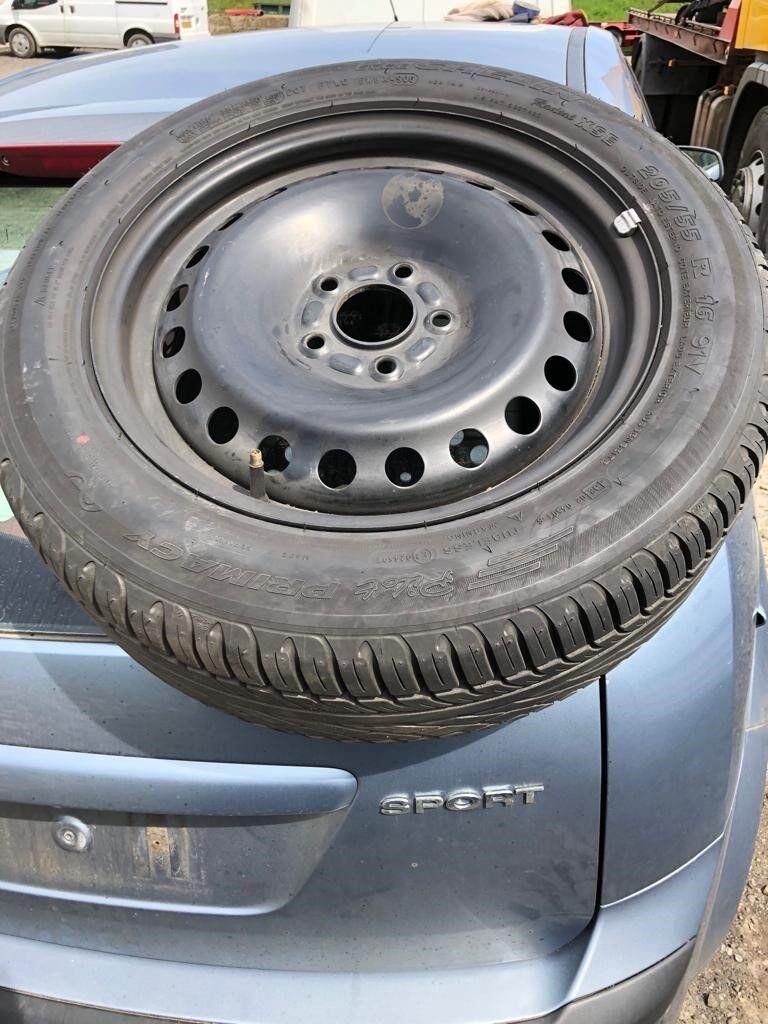 Ford Focus 5 Stud wheel 205/55R/16,91 Michelin pilot primacy XSE