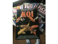 Koi book and magazines