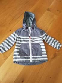 12-18 months boys thin waterproof coat/anorak