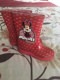 Minnie wellies