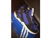 Need Quick sale! - Almost New Adidas Tubular Blue - Size UK 9 With Box