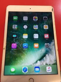 iPad mini 4 cracked digitiser still works fine 16gb