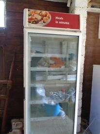 Upright Retro Ex Shop Freezer For Sale!