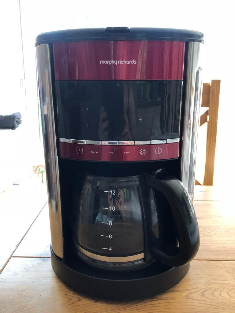 Murphy Richards filter coffee machinein Norwich, Norfolk - Good condition , only used a few times, works well Murphy Richards filter coffee machine . Posted by Sophia in Small Appliances, Coffee Machines in Norwich. 23 June 2018