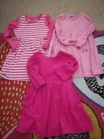 3 lovely girls dresses.