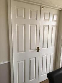 Doors x 5 wood grain not the cheap ones. some are fire safety doors