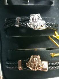 Designer braclets and Gucci rings