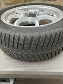 """15"""" Winter tyres and alloys - free to good home"""