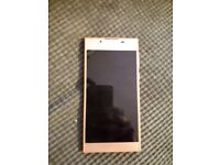 Sony experia la rose gold color