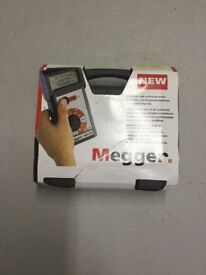 megger insulation resistance and continuity tester