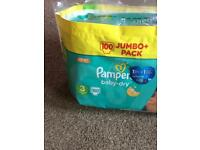Pampers nappies (41 ) size 3 FREE