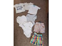 6-9 months baby boys bundle of clothes