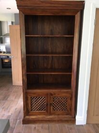 Maharani wooden bookcase from John Lewis