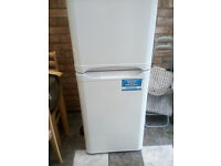 very clean and new indesit fridge freezer
