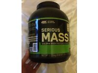New Serious mass double chocolate flavor selling!