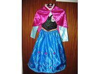 Frozen Disney Store Anna with cloak label still attached so could be present for 7 to 8 yrs 128 cms