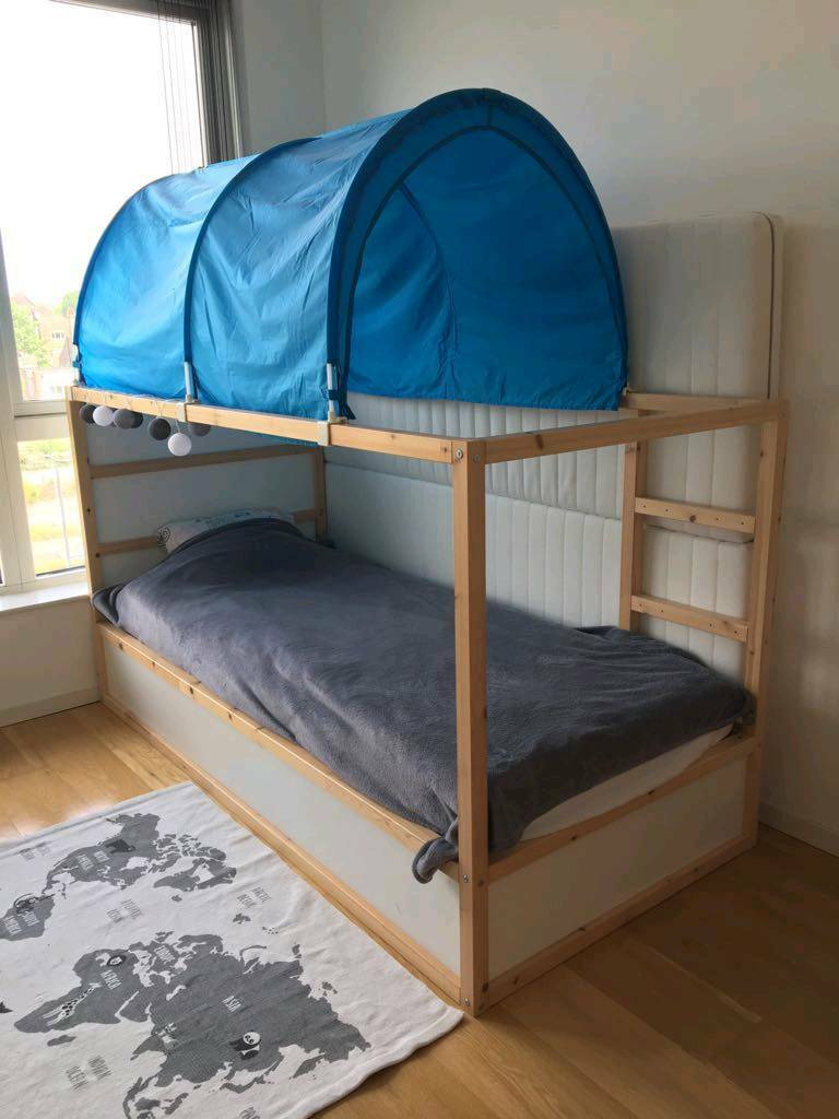 Home images ikea kura bed ikea kura bed facebook twitter google - Ikea Kura Revirseble Bed With Tent And Malfors Mattress