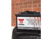 12 volt car battery