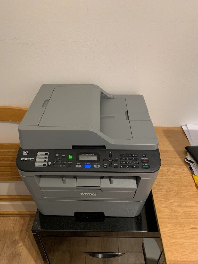 Brother MFC-L2700DW: Laser Printer, scanner, fax - dual page (70% toner  left) | in Kingston, London | Gumtree