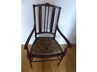 Antique chair by G E Pane