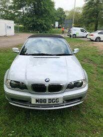 BMW convertible 320ci