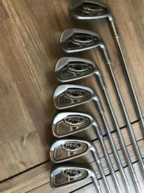 Ping i15 4-PW irons (7 golf clubs)