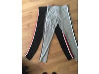 Sport stripe leggings