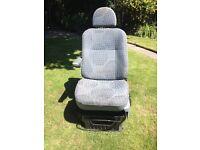 Ford Transit van single passenger seat