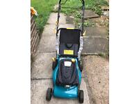 Petrol power push lawn mover