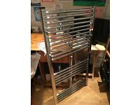 Radiator - Ladder style, stainless steel/chrome