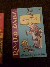 roald Dahl books 2 pounds each