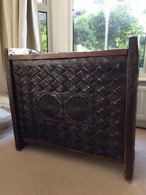 Antique Afghan Decorative Chest/ Trunk
