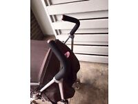Pushchair good condation with rain cover