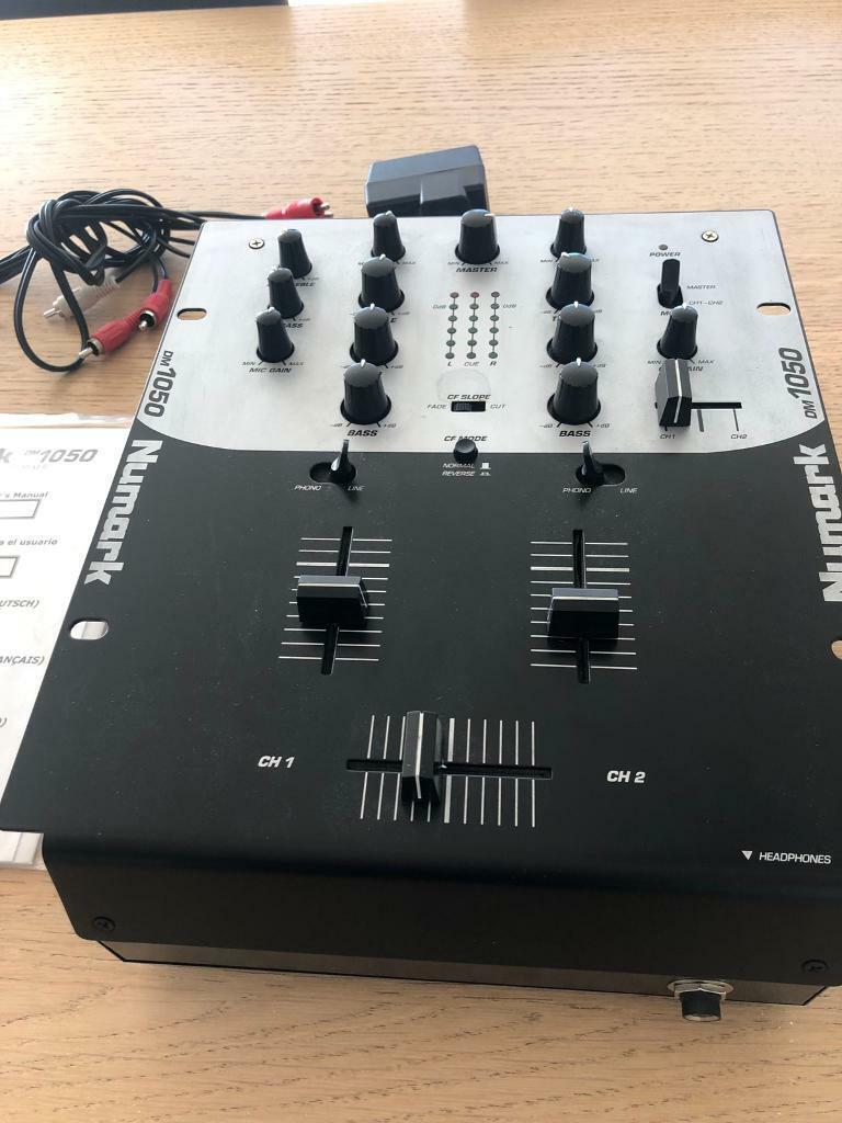 Numark DM1050 2 channel DJ mixer | in Forres, Moray | Gumtree