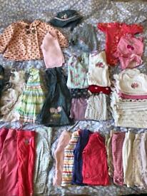 6-9 month bundle of girls clothes incl john lewis, gap etc