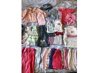 6-9 month bundle of girls clothes incl john lewis, gap etc