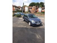 RENAULT CLIO 1.2 2007 BLUE MANUAL 3DR **IDEAL FIRST CAR**CHEAP TO RUN**VERY LOW MILEAGE**