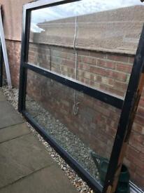 Free wooden window